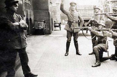 Execution of a German Communist in Munich, 1919