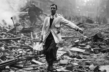 The London milkman, 1940