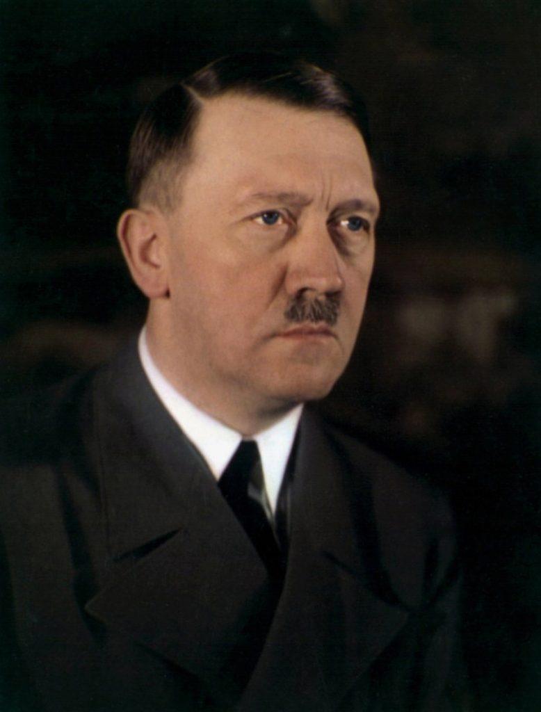 Adolf Hitler S Eye Color In A Rare Color Photo Rare Historical Photos