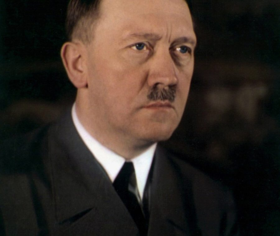 Adolf Hitlers Eye Color In A Rare Color Photo