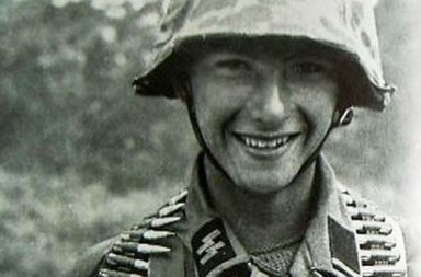 A young German soldier, 1944