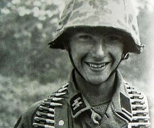 A Young German Soldier 1944