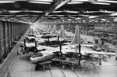 B-32 Bomber Factory in Fort Worth, Texas c.1944
