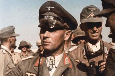 Erwin Rommel and his staff, Western Desert, 1942