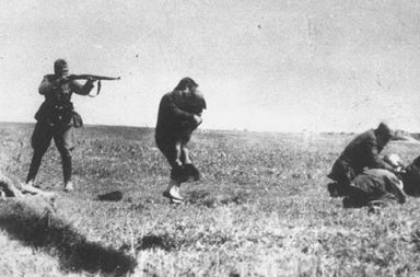 Executions of Kiev Jews by German army mobile killing units, 1942