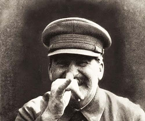 Stalin in an off-recor...