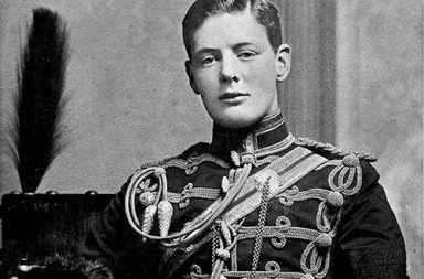 Young Winston Churchill, 1890s