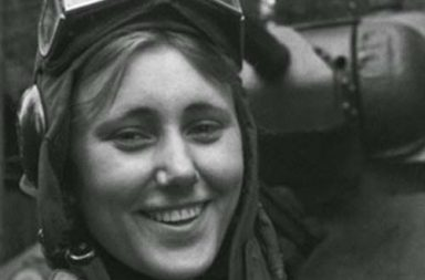 Aleksandra Samusenko was the only female tank officer in the 1st Guards Tank Army, 1943