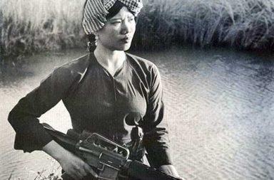 Female Viet Cong Warrior