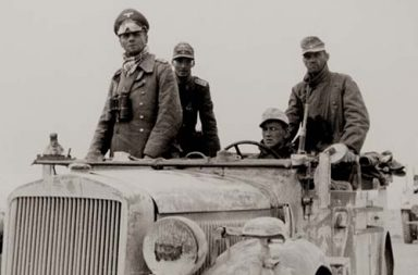 Field Marshal Erwin Rommel shortly after arriving in North Africa, 1941