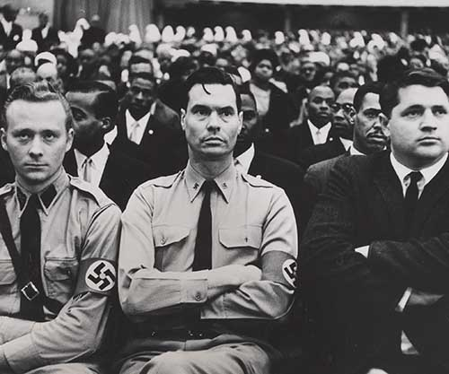 George Lincoln Rockwell Members American Nazi