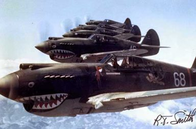 The Flying Tigers over China, 1942