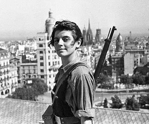 Marina Ginesta, A 17-year-old Communist Militant