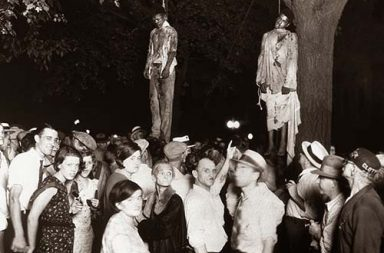 The lynching of Thomas Shipp and Abram Smith, 1930