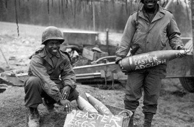 Easter eggs for Hitler, 1945