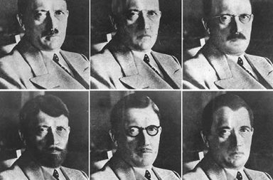 Hitler in disguise: US intelligence images of how Hitler could have disguised himself, 1944