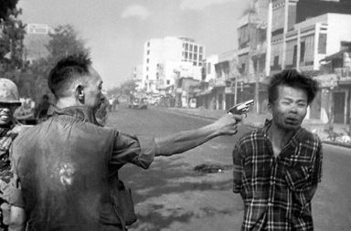 Saigon Execution Murder of a Vietcong by Saigon Police Chief, 1968