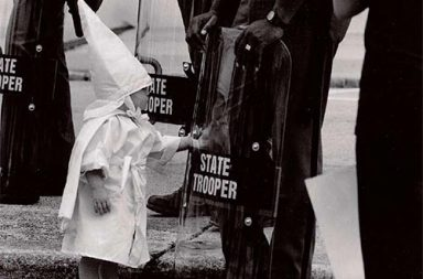 A KKK child and a black State Trooper meet each other, 1992