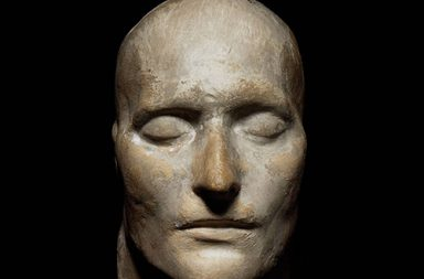 Death mask of Napoleon Bonaparte, 1821