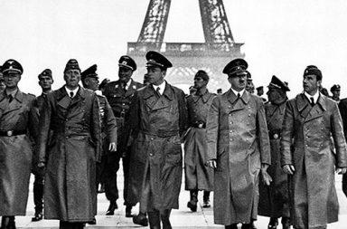 Hitler's triumphant tour of Paris, 1940
