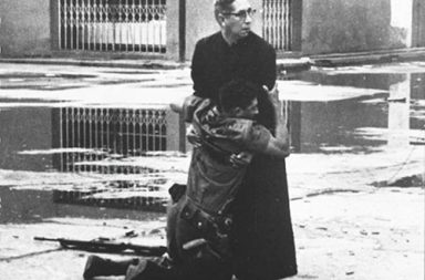The priest and the dying soldier, 1962
