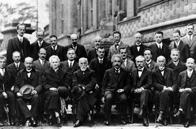 The Solvay Conference, probably the most intelligent picture ever taken, 1927