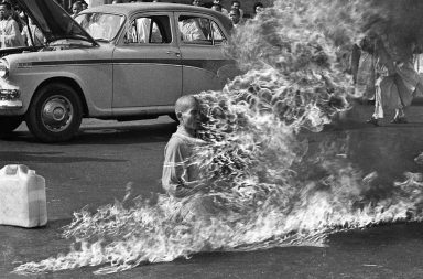 The burning monk, 1963