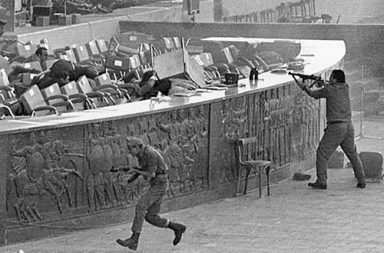 The assassination of Anwar Sadat, 1981