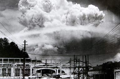 The atomic cloud over Nagasaki, 1945