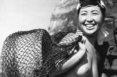 Pearl divers of Japan, 1950s