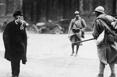 French soldiers in the Ruhr, 1923