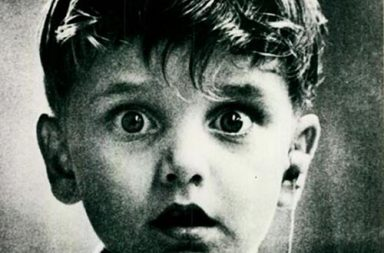 Harold Whittles hearing sound for the first time, 1979