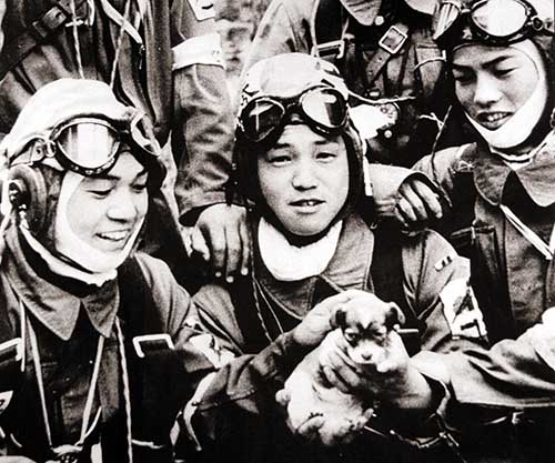 a history of the kamikaze pilots during the world war two Famous kamikaze pilots a knowledge archive  against the allied forces during world war ii the kamikaze aircraft were purposely  two.