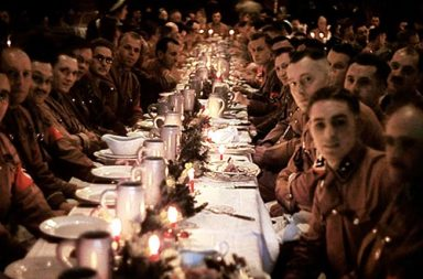 Inside a Nazi Christmas party hosted by Adolf Hitler, 1941
