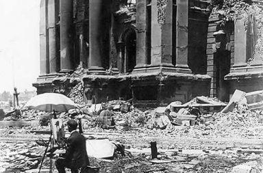 San Francisko earthquake, 1906