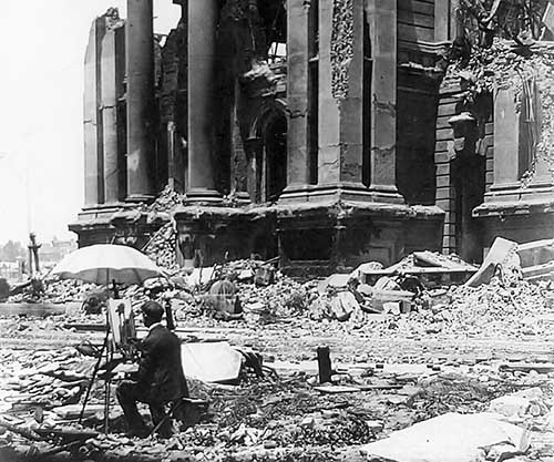 the consequences of the san francisco earthquake of 1906 One good side effect of this eathquake was that the san andreas fault line was studied and lead to the elastic rebound theory.