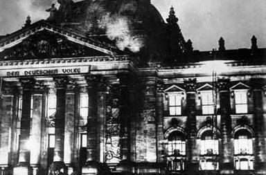 Reichstag fire, 1933
