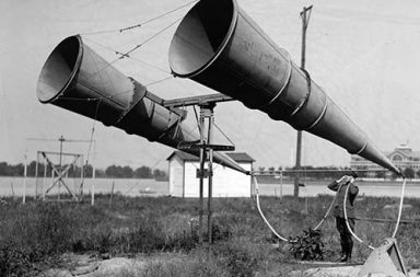 Aircraft detection before radar, 1917-1940.