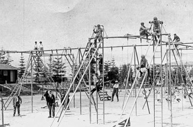 The dangerous playgrounds of 1900s
