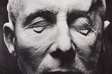 Death mask of Field Marshal Erwin Rommel, 1945