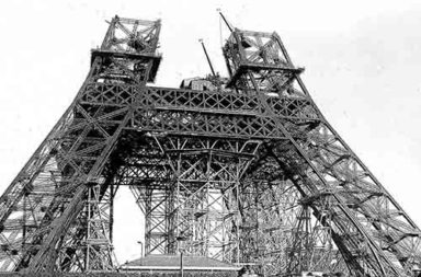 Eiffel Tower under construction, 1887-1889