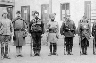 Troops of the Eight-Nation Alliance, 1900