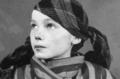 Czeslawa Kwoka, the 14-year-old inmate of Auschwitz, 1942