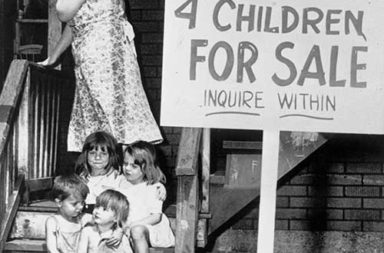 """4 Children for Sale"", 1948"