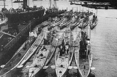 The Naval warfare of World War One, 1914-1918