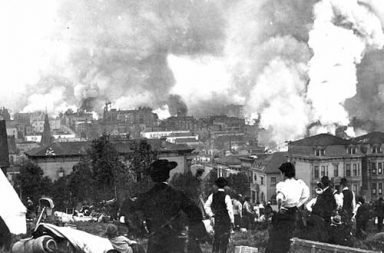 The Great 1906 San Francisco Earthquake and Fire in pictures, 1906