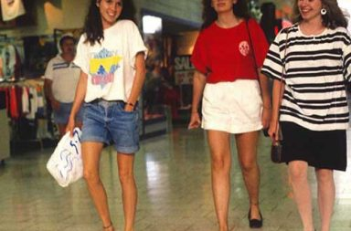 A nostalgic glance at American shopping malls of the late 1980s