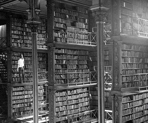 The Old Cincinnati Library Before Being Demolished 1874 1955