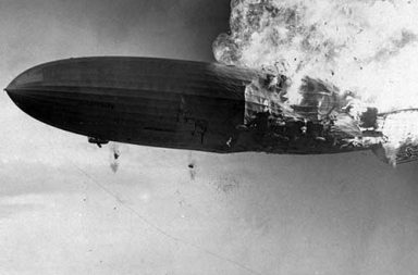 The Hindenburg Disaster in pictures, 1937