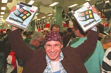 Remembering the hysteria over Windows 95 launch, 1995